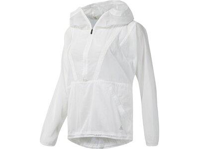 REEBOK Damen Jacke PACKABLE WOVEN Weiß