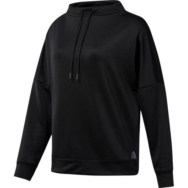 REEBOK Damen Hoodie WOR MEET YOU THERE GRAPHIC FUNNEL