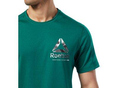 REEBOK Herren Shirt OST Speedwick Graphic Blau