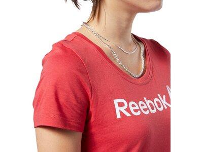 REEBOK Damen Shirt LINEAR READ SCOOP Schwarz