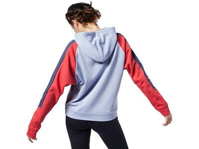 REEBOK Herren Sweatshirt WOR Colorblocked Coverup Grau