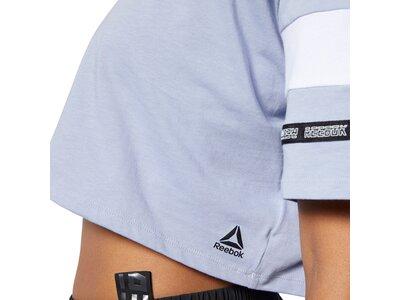 REEBOK Damen T-Shirt WOR MYT Silber