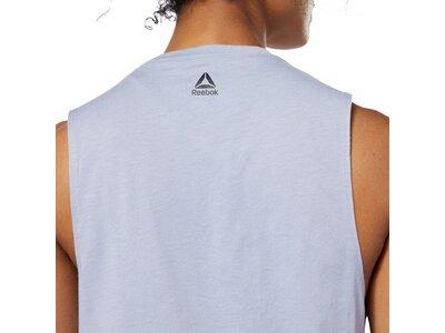 REEBOK Herren Shirt WOR MYT MUSCLE Silber