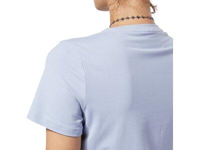 REEBOK Damen Shirt WOR SW TEE Silber
