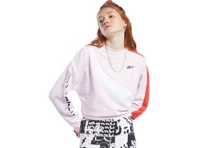 REEBOK Herren Sweatshirt WOR MYT Colorblocked Crew Pink