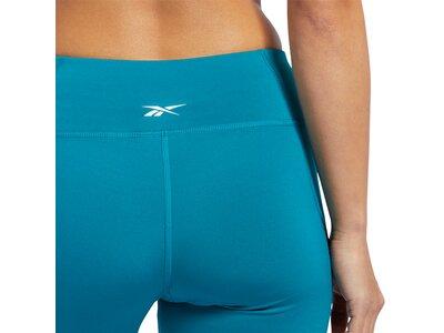 REEBOK Damen Tights Workout Ready Mesh Blau