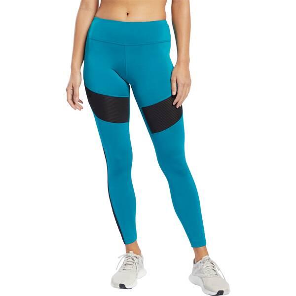 REEBOK Damen Tights Workout Ready Mesh