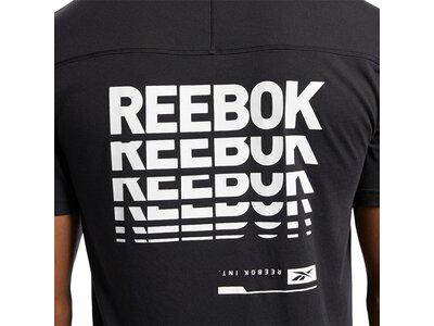 REEBOK Lifestyle - Textilien - T-Shirts Speedwick Graphic Move T-Shirt Schwarz