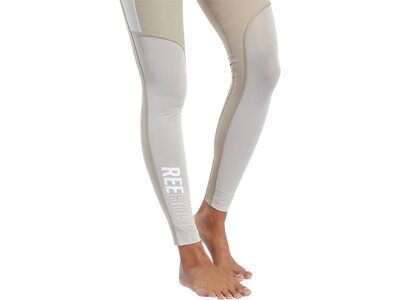 REEBOK Damen Tight CBT WOVENKICKBOXING Braun