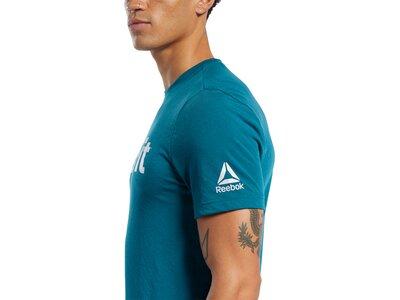 REEBOK Herren Shirt RC CrossFit Read Blau