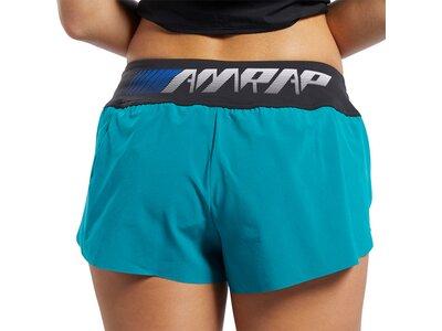 REEBOK Damen Shorts CrossFit Knit Woven Braun