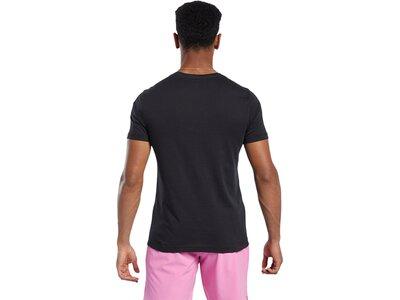 REEBOK Herren Shirt RC Surfing Bear Pink