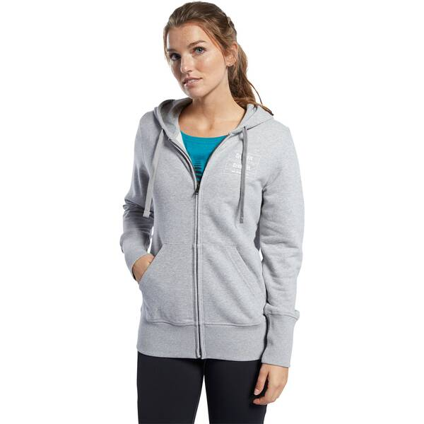 REEBOK Damen Trainingsjacke CrossFit Full Zip