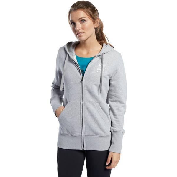 REEBOK Damen Trainingsjacke CrossFit Full Zip