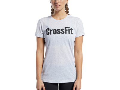 REEBOK Damen Shirt CrossFit Read Silber