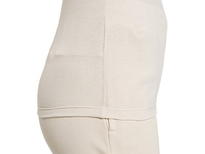 REEBOK Damen Shirt SR Rib Long Sleeve Braun