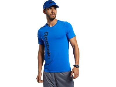 REEBOK Herren Shirt WOR AC GRAPHIC SS Q1 Blau