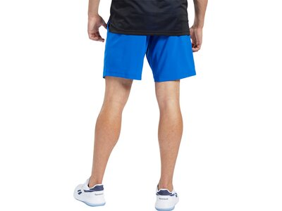 REEBOK Herren Shorts Workout Ready Woven Graphic Schwarz
