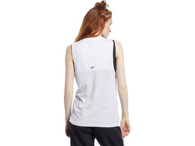 REEBOK Damen Tanktop Meet You There Silber