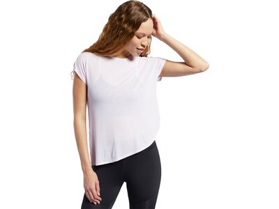 REEBOK Damen T-Shirt Workout Ready ACTIVCHILL Schwarz