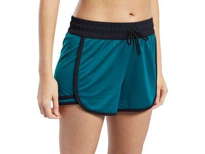 REEBOK Damen Shorts Workout Ready Knit Blau
