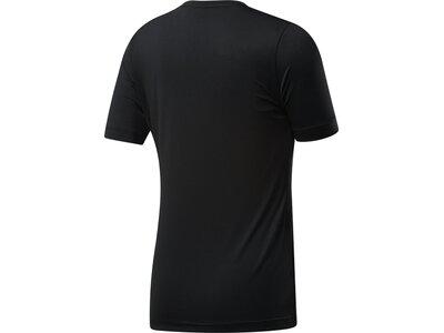 REEBOK Damen Shirt WOR SW Schwarz