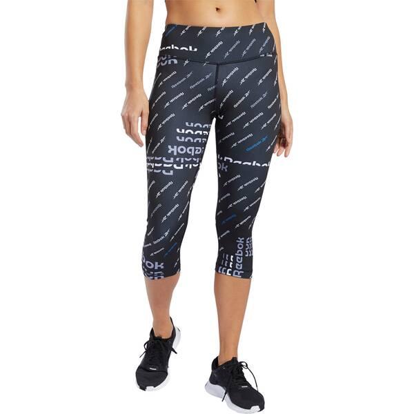 REEBOK Damen Tights Workout Ready ALLOVER PRINT