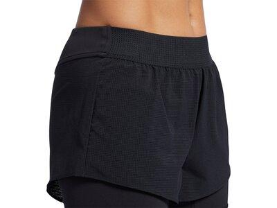 REEBOK Damen Shorts Epic 2-in-1 Grau