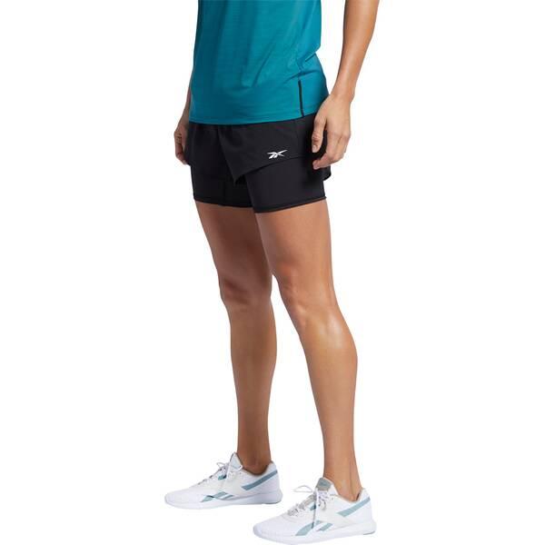 Hosen - REEBOK Damen Shorts Epic 2 in 1 › Grau  - Onlineshop Intersport