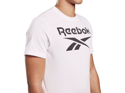 REEBOK Herren T-Shirt GRAPHIC SERIES STACKED Weiß