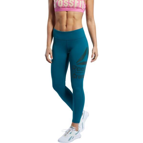 Hosen - REEBOK Damen Tights CrossFit Lux 7 8 › Pink  - Onlineshop Intersport