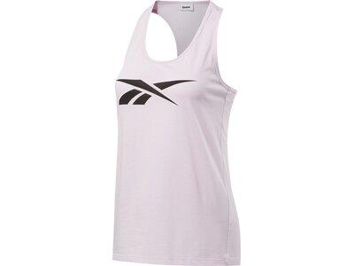 REEBOK Damen Tanktop Essentials Graphic Pink