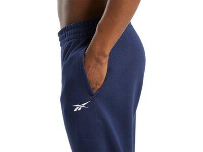 REEBOK Herren Sporthose Essentials Linear Logo Schwarz