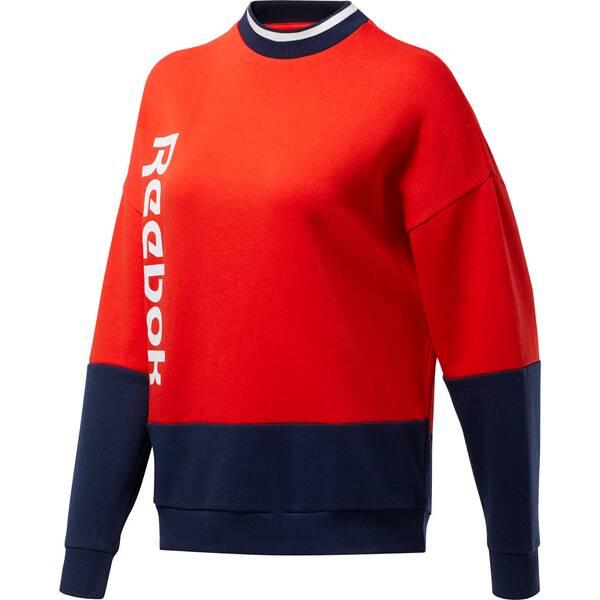 REEBOK Damen Sweatshirt Essentials Logo Crew