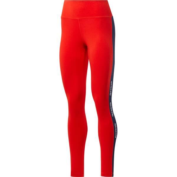 REEBOK Damen Leggings Essentials Linear Logo