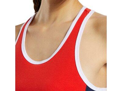 REEBOK Damen Sport-BH Essentials Linear Logo Low-Impact Schwarz