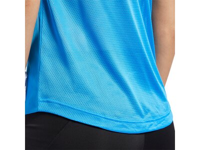 REEBOK Damen Shirt US PERFORM MESH Blau