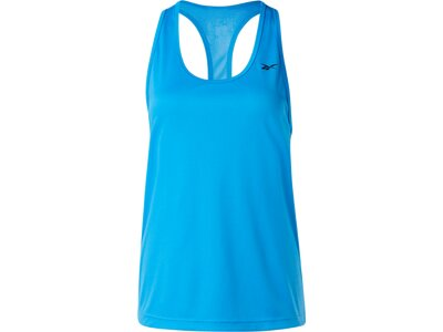 REEBOK Damen Shirt US PERFORM MESH Blau
