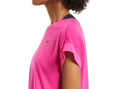 REEBOK Damen Shirt WOR SUPREMIUM DETAIL Pink