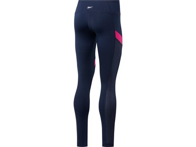 REEBOK Damen WOR Mesh Tight Blau