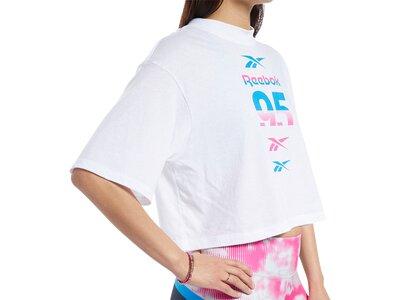 REEBOK Damen Shirt WOR MYT RBK Graphic Pink