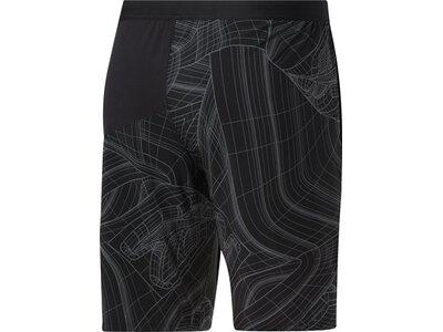 REEBOK Herren Shorts TS AOP Speed Schwarz