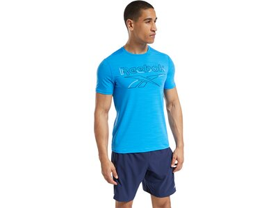 REEBOK Herren Shirt WOR AC GRAPHIC SS Q3 Blau