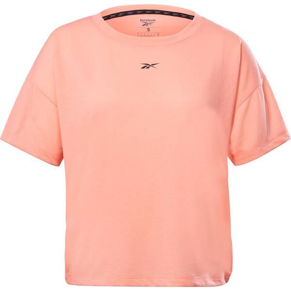 REEBOK Damen T-Shirt WORKOUT READY SUPREMIUM DETAIL