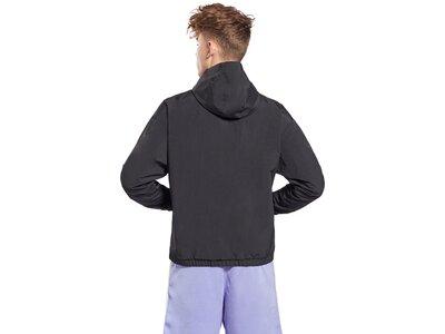 REEBOK Herren Trainingsjacke Essentials Vector Anorak Grau