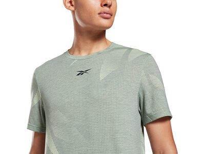 REEBOK Herren T-Shirt WOR AOP Grün