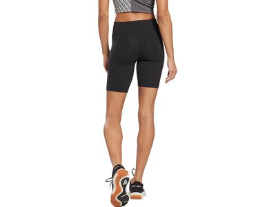 REEBOK Damen Shorts Identity Fitted Logo Schwarz