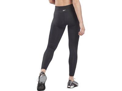 REEBOK Damen Tights Workout Ready Mesh Schwarz