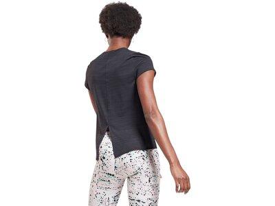REEBOK Damen T-Shirt Workout Ready ACTIVCHILL Schwarz