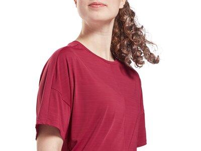 REEBOK Damen Activchill Style T-Shirt Rot